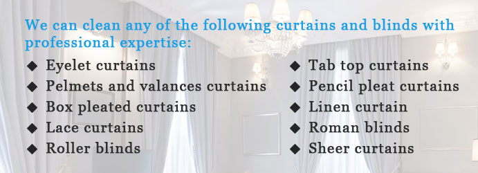 Expert Curtain Cleaning in Wilson