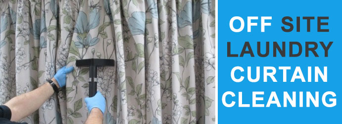 Off site Laundry Curtain Cleaning Clyde