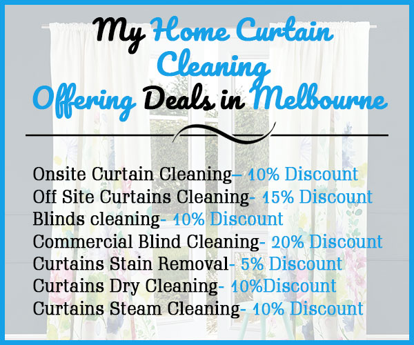 Curtain Cleaning Offering Deals in Melbourne