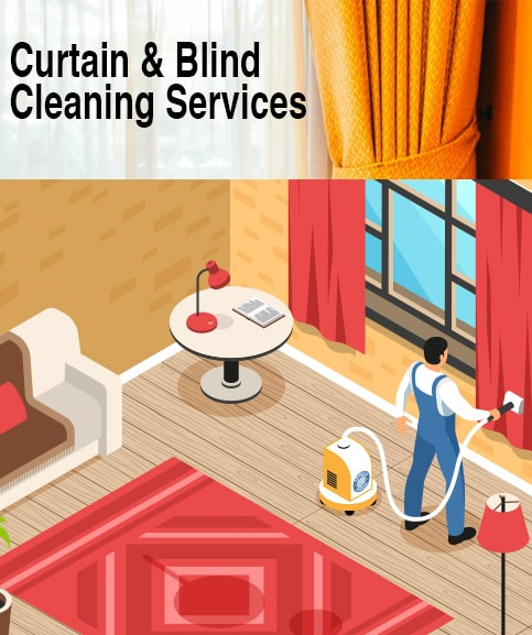 Curtain Blind Cleaning Services