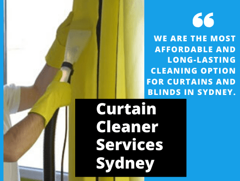 Curtain Cleaner Services  Sydney